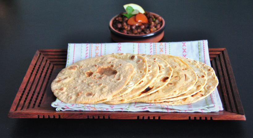 Chapati - A delicious  bread served in most homes we visited. Photo Credit: kitchenkemistry.wordpress.com