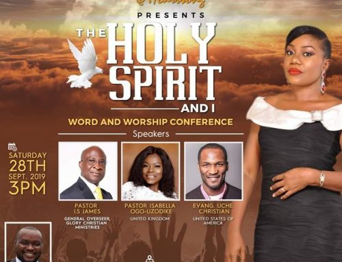 The Holy Spirit and You – Live in Lagos